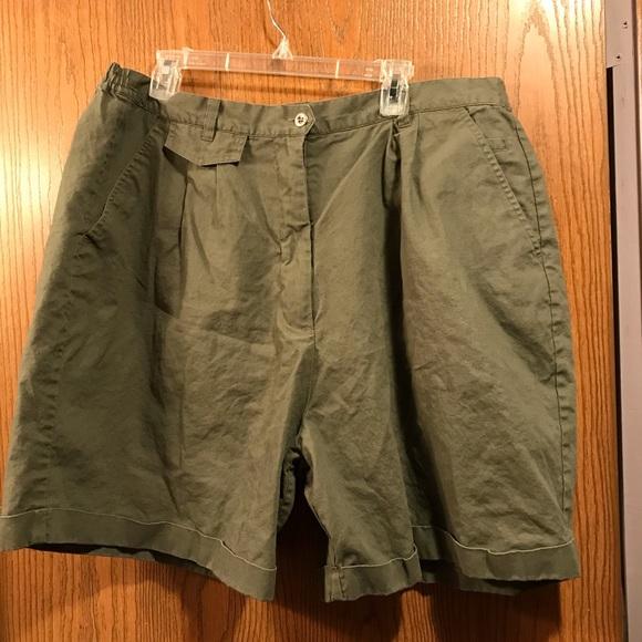 Fashion Bug Pants - Olive Green Shorts